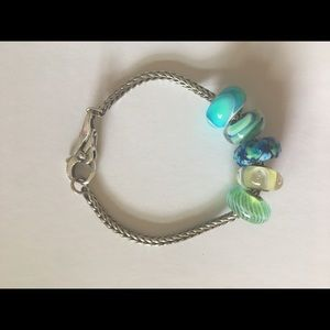 Trollbeads Bracelet with beads